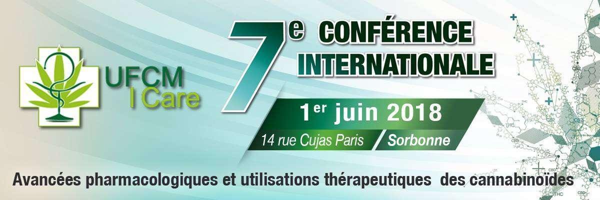 7ème conférence internationale sur les avancées pharmacologiques et les utilisations thérapeutiques des cannabinoïdes