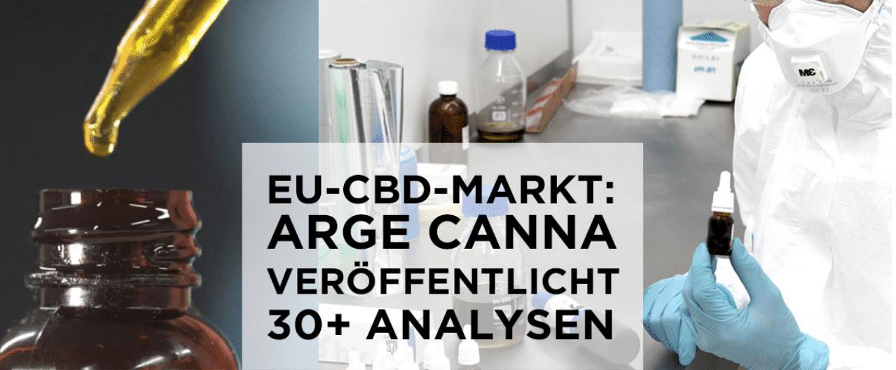 Deuxième analyse des taux de CBD des produits européens