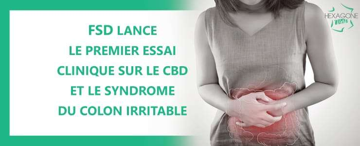 FSD lance le premier essai clinique sur le CBD et le syndrome du colon irritable
