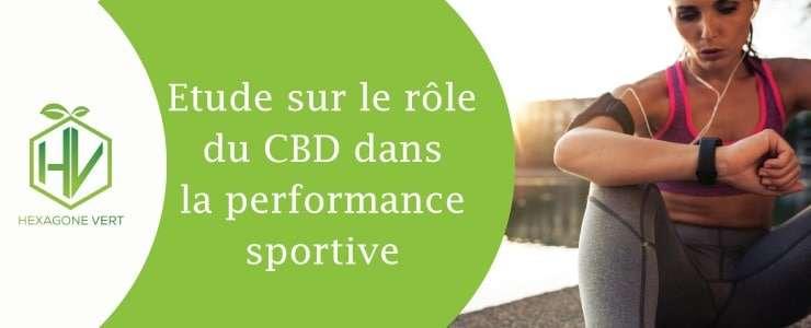 Le CBD dans le sport et la performance sportive