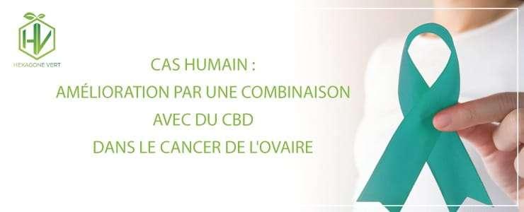 Amélioration par une combinaison avec du CBD dans le cancer de l'ovaire