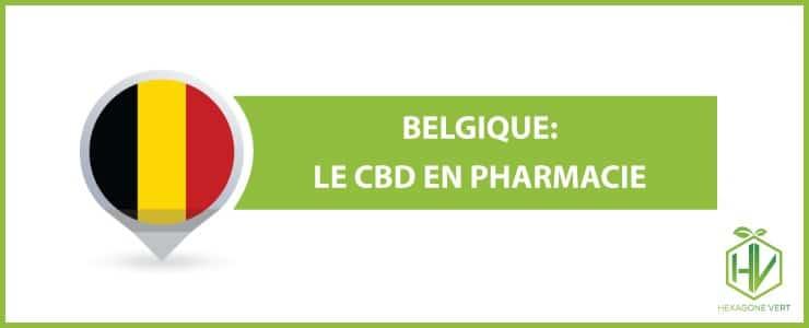 Belgique: le CBD en pharmacie