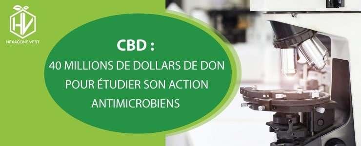 CBD anti microbien