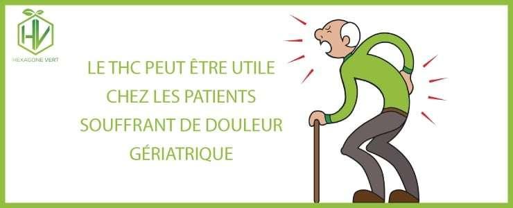 thc douleur geriatrique