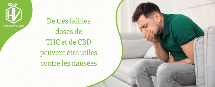 THC CBD nausées